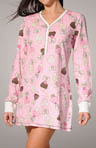 Cupcake Choices Velour Thermal Sleepshirt