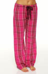 Paisley Passion Plaid Printed Pajama Pant