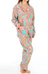 Fall Into Flannel Paisley Pajama Set