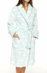 Cloud Printed Robe
