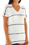 Stars and Stripes Tiedye V-Neck T-Shirt