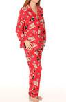 Panda Sushi Flannel PJ Set