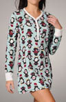 Penguin Party Velour Thermal Nightshirt