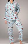 Santa Paws Cotton Flannel PJ Set