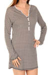 Stay The Night Houndstooth Nightshirt