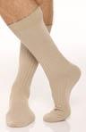 Classic Solid Rib Pima Cotton Sock