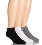 Classic Cotton Sport Ped Socks - 3 Pack