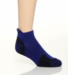 Wool Blend Ped Socks with Heel Tab