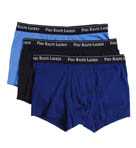 Slim Fit Cotton Trunks - 3 Pack