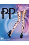 Ribbon Backseam Tights
