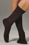 Flat Knit Cotton Sock