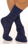 Windowpane Sock