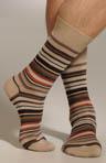 Multi-Color Stripe Sock