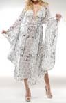Georgette Printed Kimono Robe