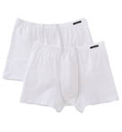 Cotton Stretch Shorts - 2 Pack
