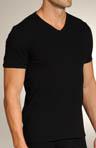 Retro Rib V-Neck Shirt
