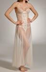 Elegant Net Long Gown