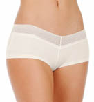 Fruit Fusion Solid Mesh Lace Girl Short Panty
