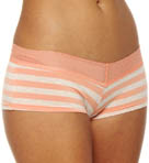 Essential Stripe Mesh Lace Girl Short Panty