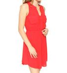 Rayon 2 Pocket Sleeveless Dress
