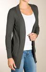 1X1 2 Pocket Long Cardigan