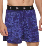 Tonal Print Moisture Wicking Boxer Short