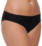 Black Basic Swim Bottom