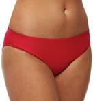 Crimson Basic Swim Bottom