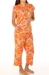 Golden Poppies Capri PJ Set