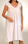 Chloe Short Sleeve Cotton Gown