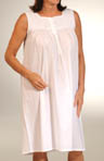 Opalina Sleeveless Cotton Gown