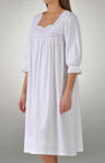 Amarante Fine Brushed Cotton Flannel Gown