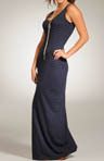 Pinstripe Long Maxi Dress