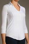 3/4 Sleeve Polo Shirt