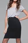 Viscose Lycra Roll Up Short Sleeve Dress