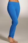 Cotton Stretch Skinny Jean Leggings