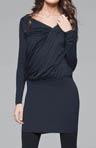 Lightweight Viscose Long Sleeve Dress