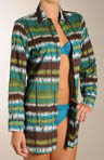 2 Dye 4 Boyfriend Swim Cover-up Shirt
