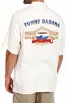 Barrel Blend Silk Diamond Twill Camp Shirt