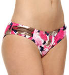 Meridian Side Shirred Hipster Swim Bottom