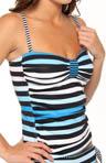 Bermuda's Lost Stripes Tankini Swim Top