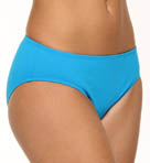 Pearl Solids High Waist Classic Swim Bottom