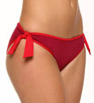 Big Red Hawaii Reversible Side Tie Swim Bottom