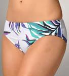 Starlight Palm High Waist Classic Swim Bottom