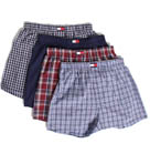 Woven Boxers- 4 Pack