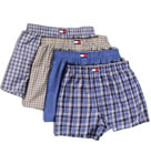 Woven Boxers - 4 Pack