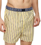 Striped Woven Boxer