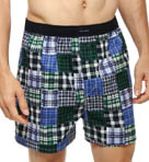 Patchwork Woven Boxer