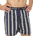 Striped Knit Boxer