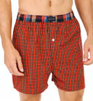 Yarn Dyed Tartan Fly Front Woven Boxers